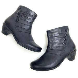 Naot | Genuine Leather Black Bootie